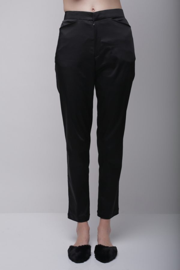 Black Twill Pants - Day and Night (3)