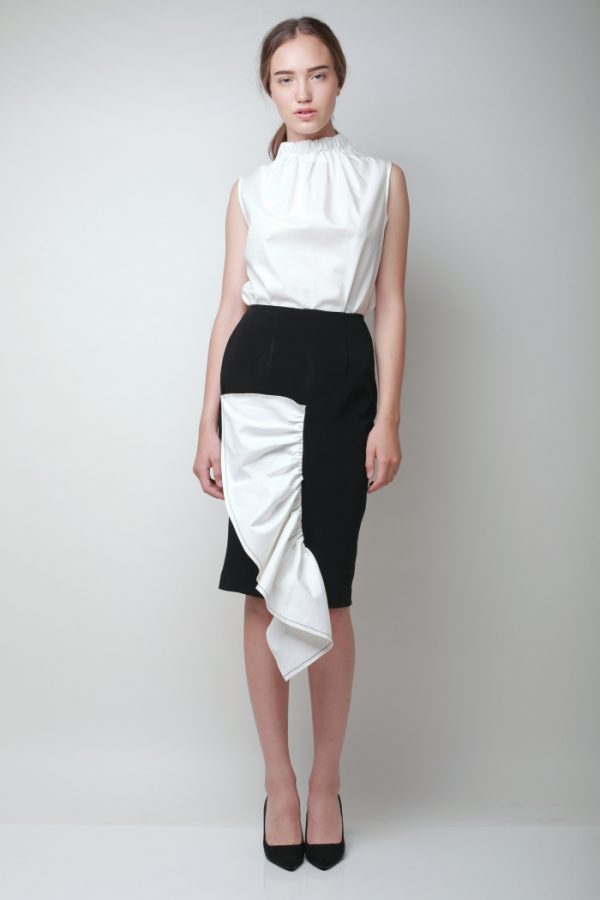Fishfin Black Skirt - Day and Night (3)