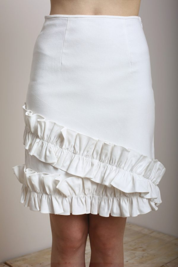 Ruffles Patched Skirt - Day and Night (2)